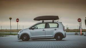 VW up! med tagboks